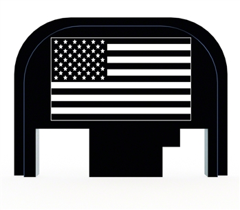 USA Flag back plate for Glock