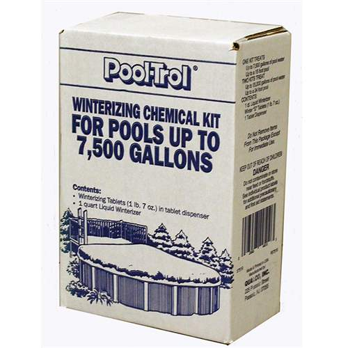 Pool Winterizing Kit Pooltrol Treats 7500 Gallons