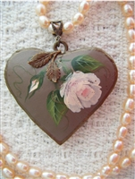 Rose Heart Necklace Kit