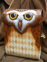 Fall Owl Purse