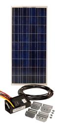 150 Watt Cabin Solar Panel Kit