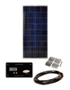 Sunbee 135 Watt RV Solar Panel Kit with 30 Amp Digital Display Controller