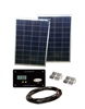 Sunbee 180 Watt RV Solar Panel Kit with 30 Amp Digital Display Controller