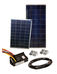 Sunbee 225 Watt RV Solar Panel Kit with 25 Amp Controller