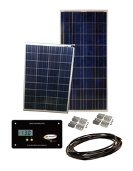 Sunbee 225 Watt RV Solar Panel Kit with 30 Amp Digital Controller