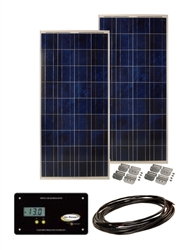 Sunbee 270 Watt RV Solar Panel Kit with 30 Amp Digital Controller