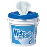 Kimberly Clark 06001 12X12.5 Wettask Wipers White 1-Ply 6/60