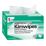 Kimberly Clark 34155 Kimwipe X-Low Lint 1Ply 4.5X8.5 White Wipers 60/280