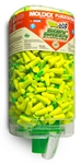 Moldex 6647 Goin Green Plugstation with 500 Pairs of Uncorded Disposable Earplugs, NRR 33dB