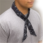 Allegro 8405-50 Cool-Offs, Cowboy Bandana Red