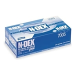 Best 7005-2XL N-Dex Disposable Nitrile Gloves, Powdered, Size 2X-Large, Box of 100 Gloves