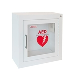 J L Industries 1413F12 Life Start Series AED Surface Mount Wall Cabinet w/Siren