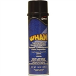 QuestVapco 207001 Wham Foaming Citrus Cleaner & Degreaser, Case of 12 - 18 oz Aerosol Cans