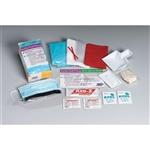 First Aid Only 214-P BBP Spill Clean Up Kit, Single Use Tray