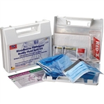 First Aid Only 214-U/FAO BBP Spill Clean Up Kit, Plastic Case