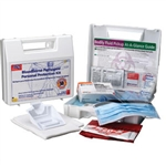First Aid Only 216-O BBP Spill Clean Up Kit with CPR Pack, Plastic Case