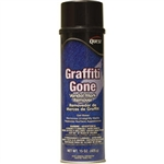 QuestVapco 221001 Graffiti Gone Vandal Mark Remover, Case of 12 - 15 oz Aerosol Cans