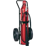 Badger 22724 50 lb CO2 Wheeled Stored Pressure Extinguisher