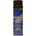 QuestVapco 229001 Breakdown Active Bacteria Odor Eliminator, Case of 12 - 18 oz Aerosol Cans