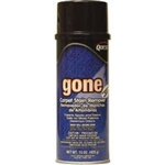QuestVapco 246001 Gone Carpet Stain Remover, Case of 12 - 15 oz Aerosol Cans