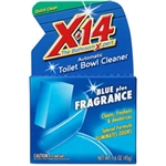 WD-40 268011 X-14 Automatic Toilet Bowl Cleaner (Blue Plus Fragrance)