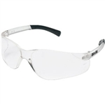 MCR Safety BK110 Crews BearKat Safety Glasses, Clear Lens/Frame