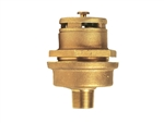 Justrite 08102 Brass Drum Vent, Vertical F/3/4""