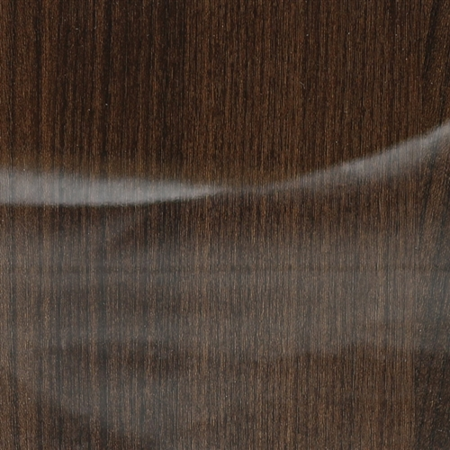 "GLOSSY walnut wood sample (5"" x 5"") (only available in vertical grain)"