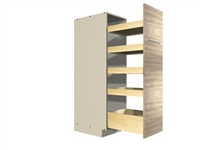 Pullout Pantry Rack (5 varied height shelves)