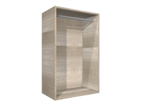 SHORT HANG open wall cabinet with hanging rod (shirts, pants, etc.)