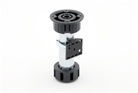 "Concealed Leveling Foot/Crown Backer- Steel and Plastic (4"" to  5 1/2"") or (5"" to 6 3/4"")"