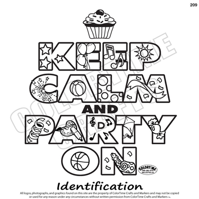 209 Keep Calm Party