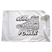 #Girl Power Pillowcase