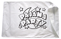 Pajama Party Pillowcase