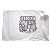 Girls Play Strong Pillowcase
