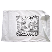 Christmas Santa Roof Pillowcase