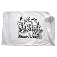 Haunted Halloween Pillowcase