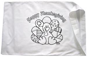 Thanksgiving Patch Pillowcase