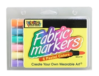 Fabric Markers Economy Pack- Pastel