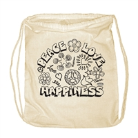 Peace Love & Happiness Backpack