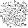 Girl Power Coloring Page