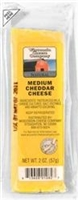 2oz. Medium Cheddar Cheese Snack Stick