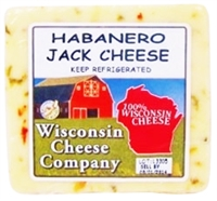 7.75oz. Habanero Jack Cheese Block