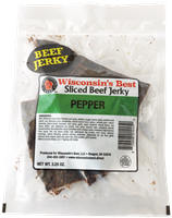 Real Pepper Beef Jerky 3.25oz.