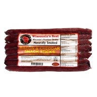 Bacon Snack Sticks Sausage Stick Value Pack 7oz.