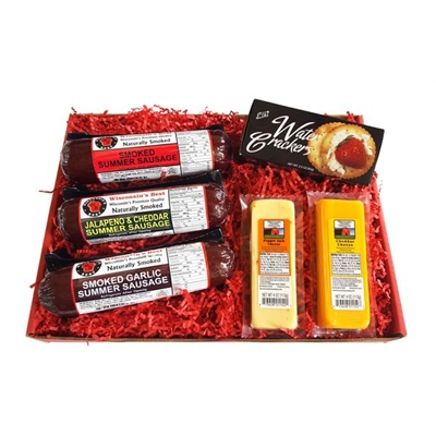 Wisconsin's Best Snacker Gift Basket
