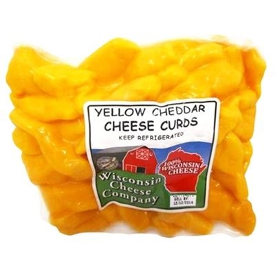 12oz. Yellow Cheddar Cheese Curds Pack