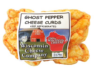 12oz. Ghost Pepper Cheese Curds Pack