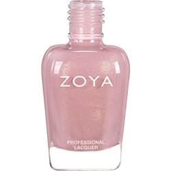 ZOYA Professional Nail Lacquer Elodie Melon Pink Coral | Camphor Free Nail Polish, Safer Nail Enamels, Natural Make Up