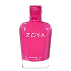 ZOYA Professional Nail Lacquer Nana Deep Fuchsia | Camphor Free Nail Polish, Safer Nail Enamels, Natural Make Up